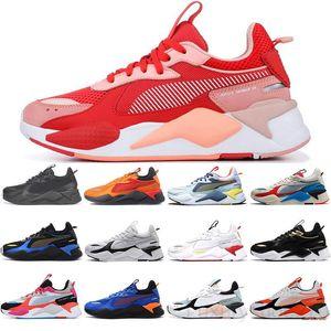 С Free Sock RS-X повседневная обувь Горячие колеса трофея Revelvented Cooler Black White White Classics Rs x Mens Trainers Runner Sports Sports 36-45 TY5C
