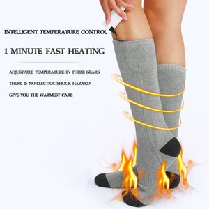 3 Adjustable Warmer Socks Electric Heated Socks Rechargeable Battery For Women Men Winter Outdoor Skiing Cycling Sport Heate