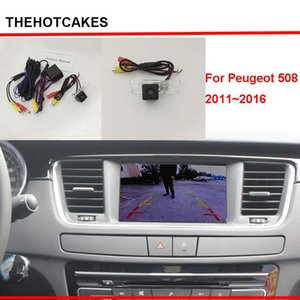 thehotcakes Car Rear View Camera For 508 2011~2020 Original Screen Compatible   Back Up Reverse Camera Sets