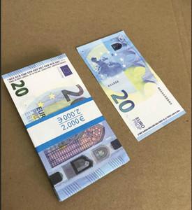 NUOVO 10 20 50 50 Euro Falso denaro Billet Movie Money Faux Billet Euro 20 Play Collezione e regali 216
