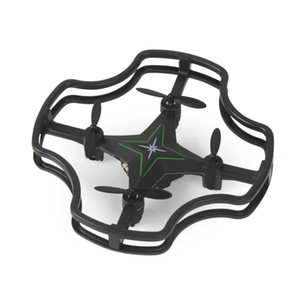 F15 mini small four-axis automatic hover no head mode RC aircraft children model aircraft unmanned aerial vehicles - Dark green