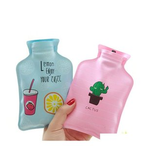 Hand Warm Water Bottle Portable Hand Warmer Water Injection Storage Bag Tools Cartoon Cute Mini Ho qyltik hotclipper