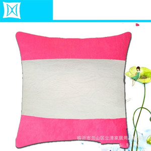 40 * 40 см Сублимационные пустые подушки с сердечником внутреннего плюшевого горизонтального орнаментального орфографии.