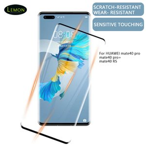 DHL Cell Phone Full Screen Protector Cover Tempered Glass For Huawei mate40 pro  pro+ Rs