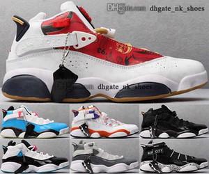 12 zapatillas de deporte Tamaño Tamaño Tenis Baloncesto Hombres Damas 6 Anillos Zapatos de Juntas EUR 46 Tripler Retro Negro 38 Mujeres Schuhe Barato Tenis Mens