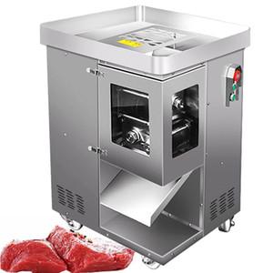 500 kg / h Fleisch Slicer Machine Commercial Slicer Maschine Fleischschneider Edelstahl 2,5 ~ 400mm Dicke Schneidemaschine 220V