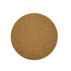 100pcs Round Wooden Coasters 95*95*3mm Drink Mats Pads Cork Coasters Round Blank Cork Coasters Wooden Drink Plain Cork Coaster Thickness 3mm