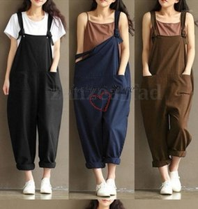 Macacão nv zhang ku hipster literário solta l roupas de algodão mulheres novas calças soltas finas casuais1