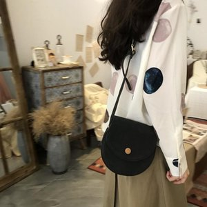 Saddle Girls Shoulder Women Vintage Summer Sling Crossbody Bag Ladies Fashion Korean Schoudertas Bags DD60NDJ Q1127