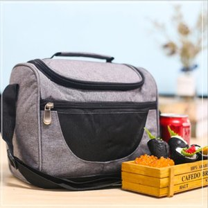 Portable Lunch Bags Multi-function large capacity Lunch Bags Camping Food preservation package portable Outdoor travel Food bag WY641Q