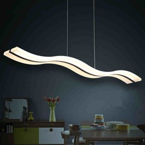 2021 Postmodern Chandelier Creative S-shaped Lighting LED Modern Minimalist Restaurant Chandelier Bar Table Restaurant Lamp