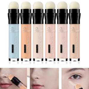 Pudaier 6 Colors Concealer Pen Cover Dark Circles Contouring Face Foundation Brighten Stick