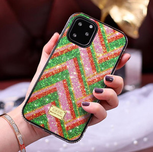 Bling Glitter Hybrid Diamond Bumper Soft TPU Case For iPhone 12 11 Pro XR XS Max X 8 7 Plus Samsung S10 Note 10 20