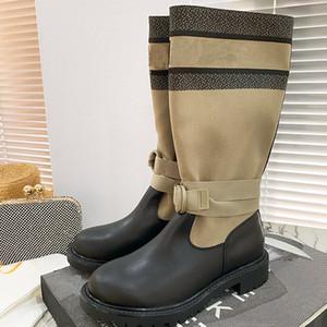 Мода женские высокие каблуки Мартин сапоги роскошные женские ботинки и ботилью голеностопных ботинок с мартиной обувь Высококачественные дамы зимний большой размер 35-41