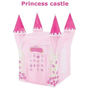 Princess Castle Children's Tent Indoor Princess Girl Ocean Ball Pool Toy House Boy Castle Baby Play House Fence Z1123
