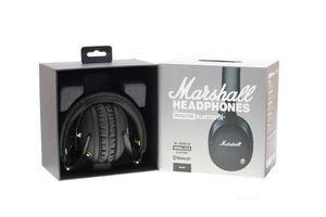 Marshall Monitor Wireless Headphones إلغاء الضوضاء سماعة Deep Bass Studio Monitor Rock DJ سماعة سماعة مع صندوق التجزئة MIC