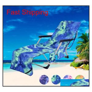 Hot Selling Superfine Fiber Beach Towel Beach Chair Towel Recline Chair Chair Cover Tie-dyed B jllMfz xmh_home