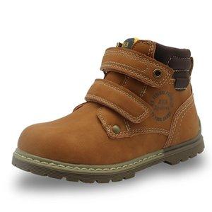 APAKOWA APAKOWA APAKOUS BOTINS Classic Martin Botas Crianças Crianças Western tornozle Botas para Meninos Borracha Sola Hookloop Crianças Sapatos Y201028