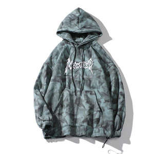 Mens Women Tie Dye Fleece Hoodies Autumn New Fashion Hooded Sweatshirt Loose Oversized Casual Man Pullover Couple Hoodie Bluza