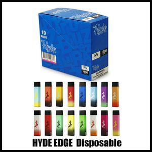 Nuevo Best Edge 1500 Puffs Vapeable Vape Pen 6.0ml PLUS PLUS LLENADOS PREPLADOS 1500puffs Cartuchos de los cartuchos Dispositivo de vapor Tapa de polvo E Kit de vaporizador de cigarrillo