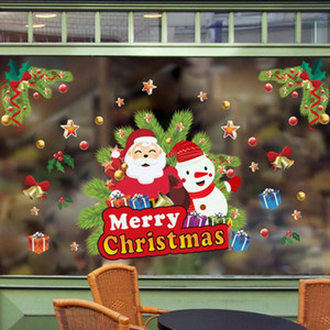 Christmas Stickers Home Decoration Store Hanging Practical New High Quality Christmas Ball Window Decoration Happy New Year