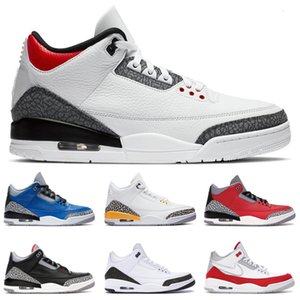 New trainers mens basketball shoes SE Fire Red Laser Orange Pure White Varsity Royal UNC Mocha Black Cement sports sneakers size 7-13