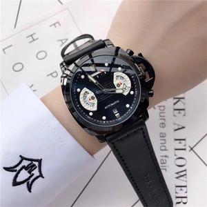 Famoso Brand Fashion Mens Watch Classic Style Pelle Cinturino Designer orologi Abito da uomo militare Guarda Orologio di Lusso