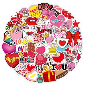 3 Sets = 150PCS I LOVE YOU Love Valentine's Day Graffiti Stickers Water Cup Computer Mobile Phone Notebook Scooter Stickers