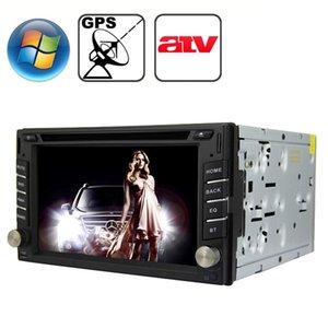 Rungrace Universal 62 pollici Windows CE 60 TFT Schermo in-Dash Car DVD Lettore DVD con Bluetooth GPS RDS ATV