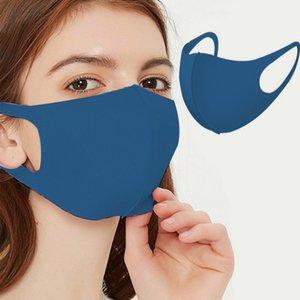 Yüz Pamuklu Yıkanabilir Kullanımlık Kayak Fasemask Maskeleri Yetişkin Siyah Moda Koruyucu Nefes Maskeleri RQCTJ
