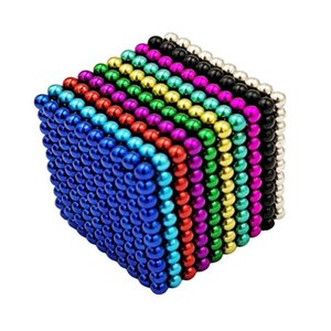 3mm Barker Ball Magnet 1000pcs 10-color magnetic educational toys Barker Ball Cube 2020 hot selling gift of the child