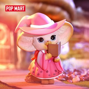 POP MART YOYO the kenneth in the magic town series Toys figure blind box birthday gift animal story toys figures free shipping Z1120 Z1120