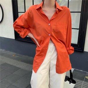 HziriP Free Fashion Basic Sunscreen 2019 Autumn Fresh Female Cute All Match Loose Stylish Women Elegant Full Sleeved Shirts