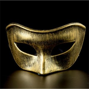 Style Halloween Mask Clothing Casual Apprel Womens Cosplay Venetian Dress Creative Fashion Masquerade Party Plastic Homme