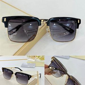 Z253 Gold Men Eyewear Gafas de coches Cuadrado Titanio Marco superior Cantidad Al aire libre UV400 Gafas de sol El Observador 2 Gafas de sol clásicas de alta calidad