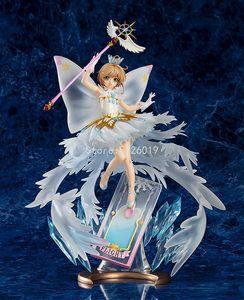 35cm Card Captor Sakura Sexy Figure Kinomoto Sakura Sexy Anime Figure Clear Card Hello Brand New World Anime Action Figure Toys