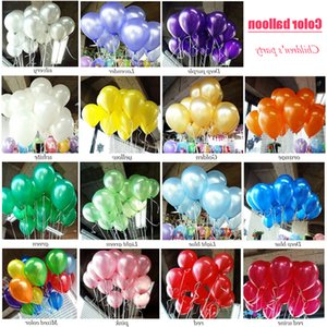 New Hot 12 Inch 2.8 g Pearl Latex Round Balloon Christmas Day Party Wedding Celebration Wedding Room Decoration Wholesale