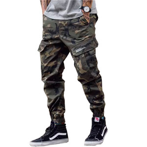 New Fashion Men Streetwear Mens Jeans Jogger Pants Youth Casual Ankle Pants Boot Cut European Jeans Pants drop shipping ABZ175 X1116