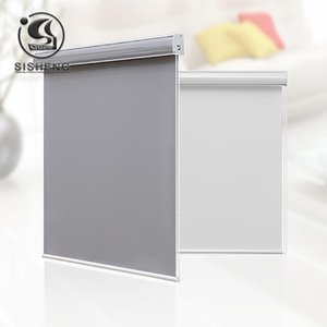 Shade curtains Waterproof and Dustproof shower and Kitchen Blackout roller blinds living room T200718