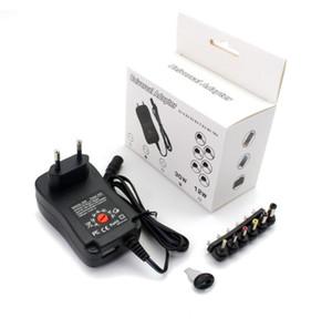 Universal 3V 4.5V 5V 6V 7,5 V 9 V DC Einstellbare Spannungsadapter 12V Stromversorgung 30W Reguliertes Netzteil mit USB-Anschluss