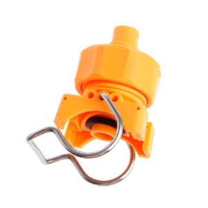 """Plastic Adjustable Ball Flat Fan Full Cone Clamp Spray Nozzle 3 4"""" Sprinklers Watering Irrigation Fitting Home Gardern Tools"""