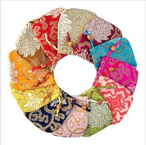 Damask creative pouches jewelry pouch silk drawsting bags chinese style jewelry bags Bracelet Bag