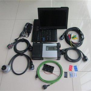 أدوات التشخيص Super MB SD C5 SSD WIFIE نجمة مع الكمبيوتر المحمول X200T شاشة تعمل باللمس تشخيص شاشة الكمبيوتر المحمول 2021.3 ل SD1