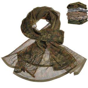 Männer Schal Taktische Wüste Arab Keffiyeh Netz Schal Winter Baumwolle Tarnkopf Damen Arabische Maske für Frauen
