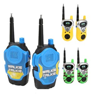 2 Pcs set 3 Colors Children Walkie Talkie Parent-child Interaction Outdoor Gaming Interphone Toys Avaliable Fun Toy