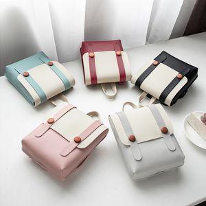 Mode Frauen Geldbörsen und Handtaschen PU-Cover Lady Kleine Quadrat Messenger Bags Einfache Design Mädchen Mini Umhängetasche