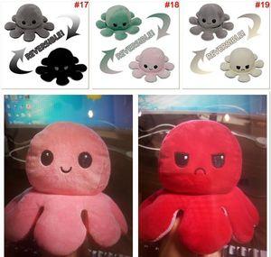 Us Stock Reversible Octopus Plush Toys Emotion Stuffed Animal Mood Changing Happy Sad Angry Mad Grumpy Pable I jllCPd yummy_shop