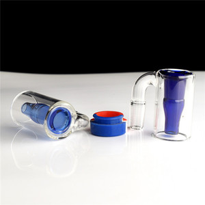 Glass Reclaim Catcher ash catcaher handmake and 5ml silicone wax containers for dab rig glass bong FY2376