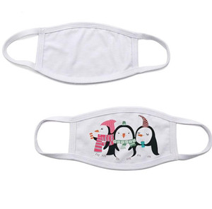 Blanks Sublimation Face Mask Adults Kids Double Layers Dust Prevention Mask For DIY Heat transfer Print Face Covers Designer Masks BWC3980