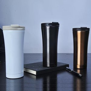 Practical Stainless Steel Vacuum Tumbler Three Colors Anti Skid Bottom Water Bottles For Outdoor Car Cups Safe 23jp BB